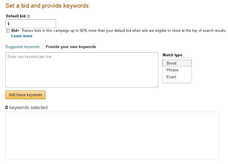 Amazon ppc tool
