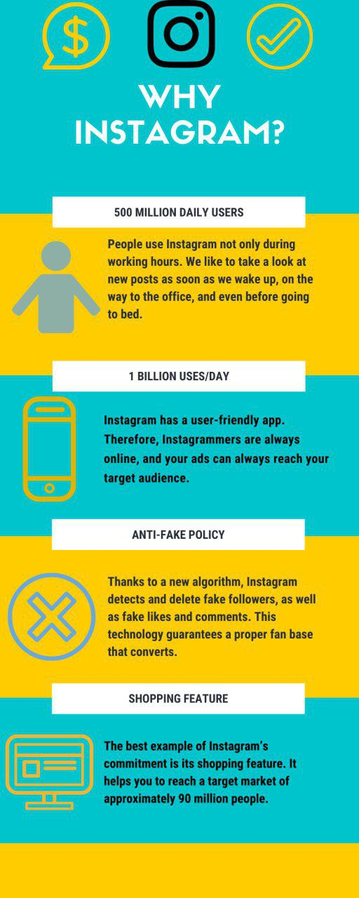 Instagram infographic